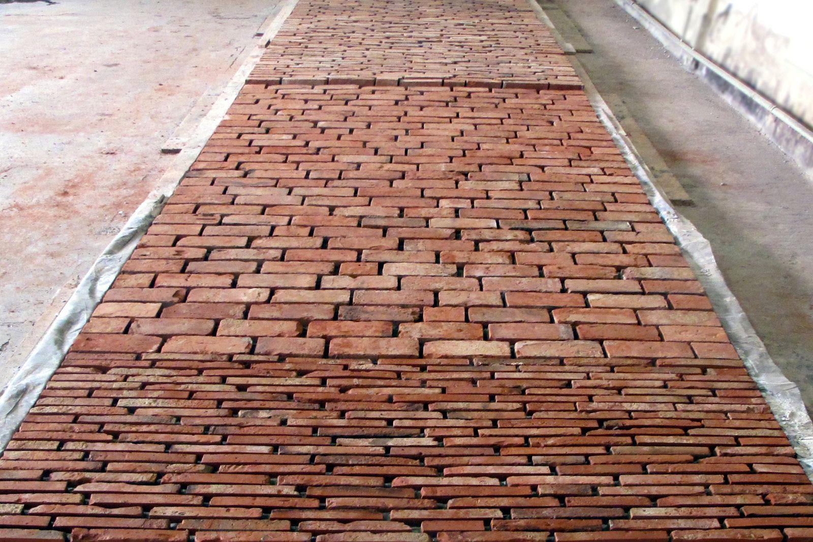Fußboden Aus Ziegel ~ Böden aus historischen ziegeln u baubetriebe neumann schöneiche
