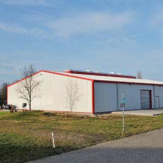 Neubau Industriehalle